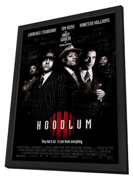 Hoodlum - 27 x 40 Movie Poster - Style A - in Deluxe Wood Frame