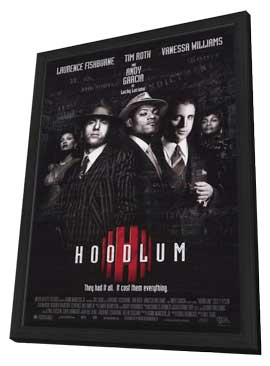 Hoodlum - 11 x 17 Movie Poster - Style A - in Deluxe Wood Frame