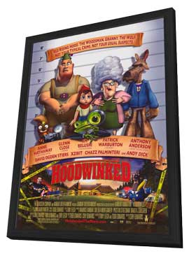 Hoodwinked - 11 x 17 Movie Poster - Style A - in Deluxe Wood Frame