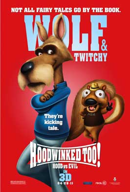 Hoodwinked Too! Hood VS. Evil - 43 x 62 Movie Poster - Bus Shelter Style A