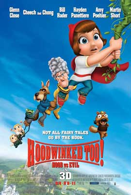 Hoodwinked Too! Hood VS. Evil - 11 x 17 Movie Poster - Style D
