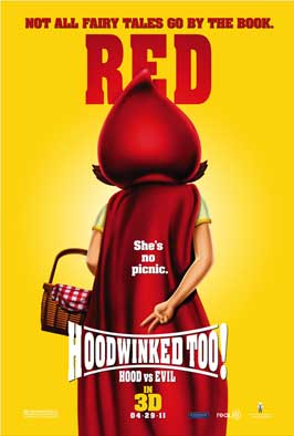 Hoodwinked Too! Hood VS. Evil - 11 x 17 Movie Poster - Style E