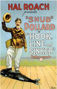 Hook Line and Sinker - 43 x 62 Movie Poster - Bus Shelter Style A