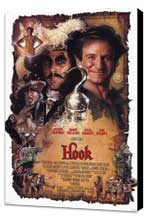 Hook - 27 x 40 Movie Poster - Style A - Museum Wrapped Canvas