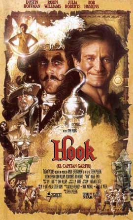 Hook - 11 x 17 Movie Poster - Spanish Style B
