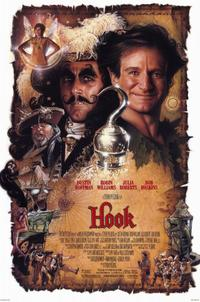 Hook - 11 x 17 Movie Poster - Style B - Museum Wrapped Canvas