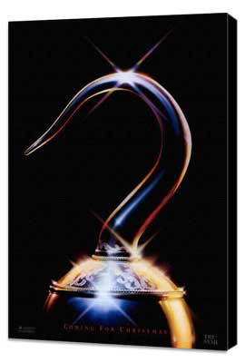Hook - 27 x 40 Movie Poster - Style B - Museum Wrapped Canvas