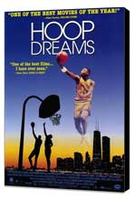 Hoop Dreams - 27 x 40 Movie Poster - Style B - Museum Wrapped Canvas