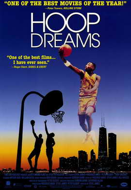Hoop Dreams - 11 x 17 Movie Poster - Style B