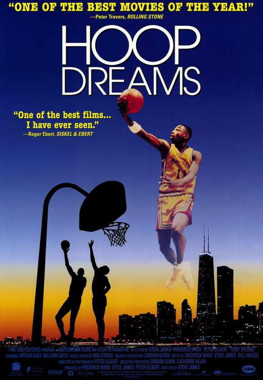 hoop dreams Hoop dreams è un documentario del 1994, diretto da steve james nel 2005 è stato scelto per la conservazione nel national film registry della biblioteca del.