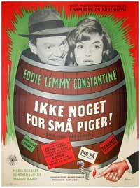 Hoopla, Now Comes Eddie - 11 x 17 Movie Poster - Danish Style A