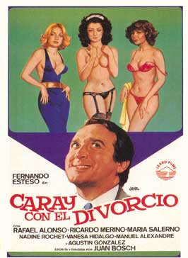 Hooray for Divorce! - 27 x 40 Movie Poster - Spanish Style A