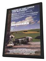 Hoosiers - 11 x 17 Movie Poster - Style A - in Deluxe Wood Frame
