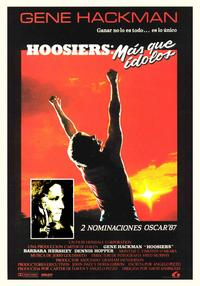 Hoosiers - 11 x 17 Movie Poster - Spanish Style B