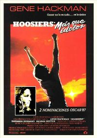 Hoosiers - 27 x 40 Movie Poster - Spanish Style A