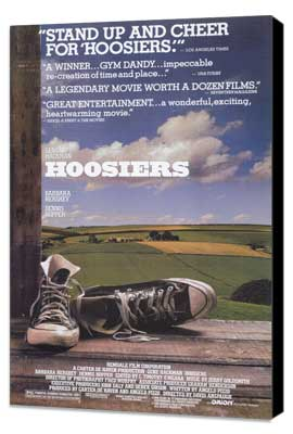 Hoosiers - 11 x 17 Movie Poster - Style A - Museum Wrapped Canvas