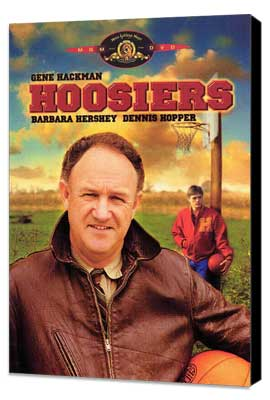 Hoosiers - 11 x 17 Movie Poster - Style B - Museum Wrapped Canvas