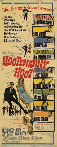 Hootenanny Hoot - 14 x 36 Movie Poster - Insert Style A