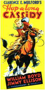 Hopalong Cassidy - 11 x 17 Movie Poster - Style B