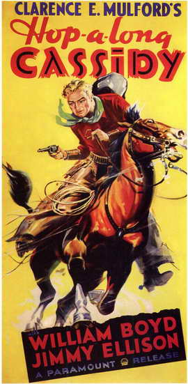 Hopalong Cassidy - 11 x 17 Movie Poster - Style A