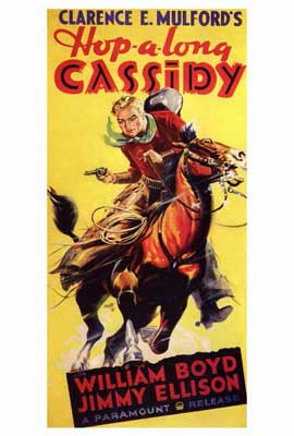 Hopalong Cassidy - 27 x 40 Movie Poster - Style A