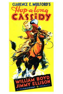 Hopalong Cassidy - 27 x 40 Movie Poster - Style B