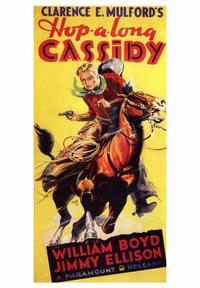 Hopalong Cassidy - 43 x 62 Movie Poster - Bus Shelter Style A