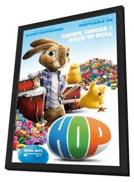 Hop - 11 x 17 Movie Poster - Style A - in Deluxe Wood Frame