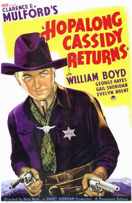 Hopalong Cassidy Returns - 11 x 17 Movie Poster - Style A
