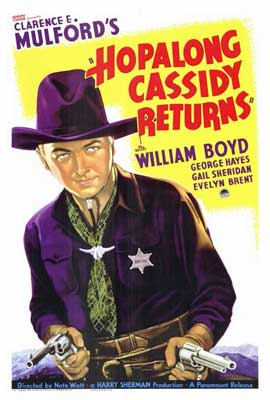 Hopalong Cassidy Returns - 27 x 40 Movie Poster - Style A