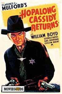 Hopalong Cassidy Returns - 43 x 62 Movie Poster - Bus Shelter Style A