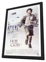 Hope and Glory - 11 x 17 Movie Poster - Style A - in Deluxe Wood Frame