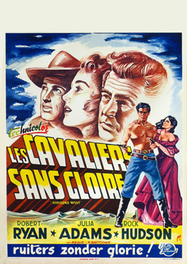 Horizons West - 27 x 40 Movie Poster - Belgian Style A