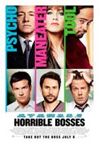Horrible Bosses - 11 x 17 Movie Poster - Style B