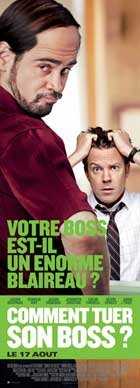 Horrible Bosses - 14 x 36 Movie Poster - French Style D