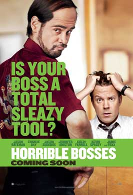 Horrible Bosses - 11 x 17 Movie Poster - UK Style A