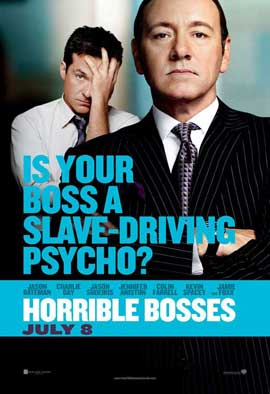 Horrible Bosses - 11 x 17 Movie Poster - Style E