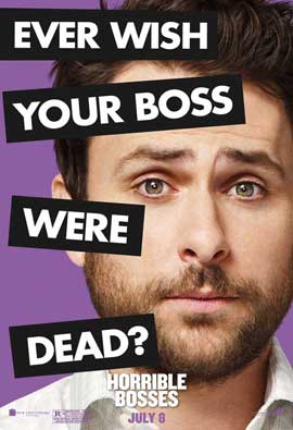 Horrible Bosses - 11 x 17 Movie Poster - Style G