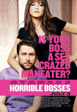 Horrible Bosses - 43 x 62 Movie Poster - Bus Shelter Style B