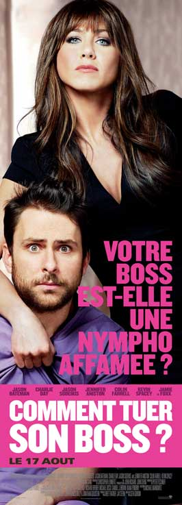 Horrible Bosses - 14 x 36 Movie Poster - French Style A