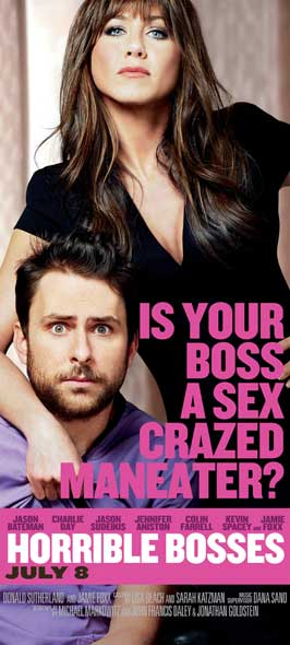 Horrible Bosses - 20 x 40 Movie Poster - Style A