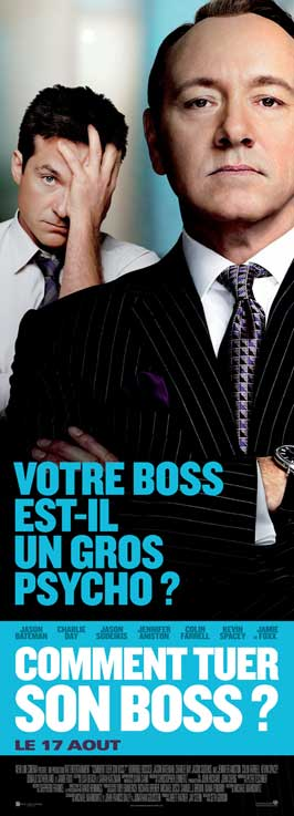 Horrible Bosses - 14 x 36 Movie Poster - French Style C