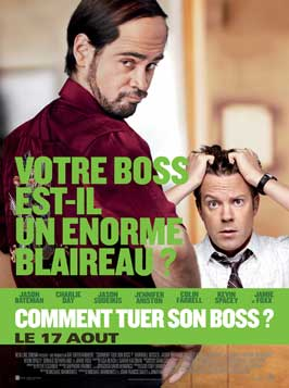 Horrible Bosses - 27 x 40 Movie Poster - French Style D