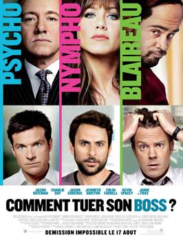 Horrible Bosses - 27 x 40 Movie Poster - French Style E