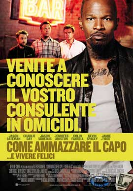 Horrible Bosses - 43 x 62 Movie Poster - Italian Style B