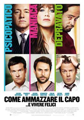 Horrible Bosses - 27 x 40 Movie Poster - Italian Style C