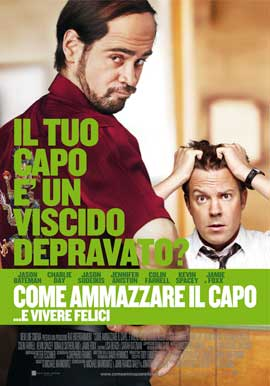 Horrible Bosses - 27 x 40 Movie Poster - Italian Style D