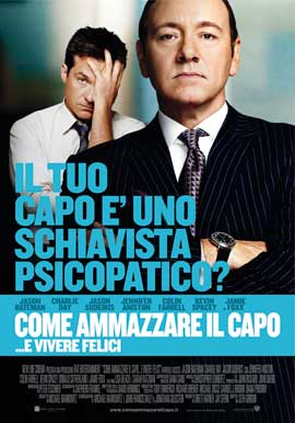 Horrible Bosses - 27 x 40 Movie Poster - Italian Style E