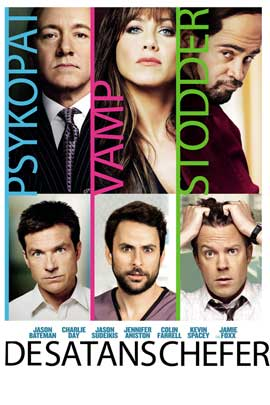 Horrible Bosses - 43 x 62 Movie Poster - Danish Style A