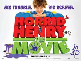Horrid Henry: The Movie - 11 x 17 Movie Poster - UK Style A